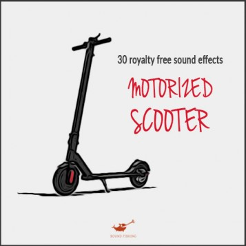 Motorized scooter sound pack